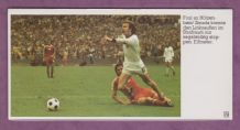 West Germany v Poland Holzenbein 1974 World Cup